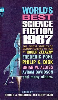 <i>Worlds Best Science Fiction: 1967</i> book by Donald A. Wollheim