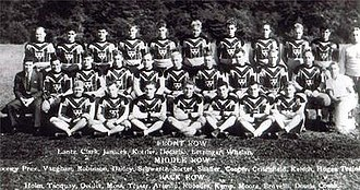 History of the Pittsburgh Steelers - Pittsburgh Pirates 1933 team photo