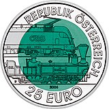 150 Years Semmering Alpine Railway commemorative coin