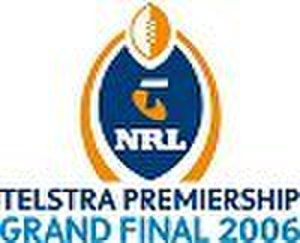 2006 NRL Grand Final - Image: 2006 NRL Telstra Premiership Grand Final logo