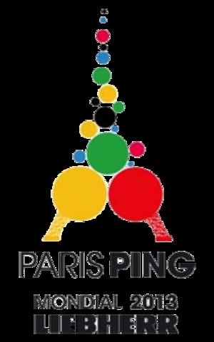 2013 World Table Tennis Championships - Image: 2013 World Table Tennis Championships