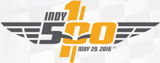 2016 Indianapolis 500 100th running of the Indianapolis 500 motor race