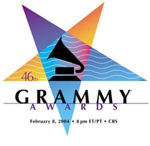 46th Annual Grammy Awards - Image: 46th Grammy Logo