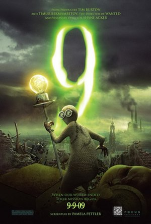 9 (2009 animated film) - Theatrical release poster