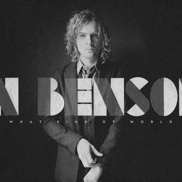 File:Album cover for Brendan Benson's 2012 studio album What Kind of World..jpg