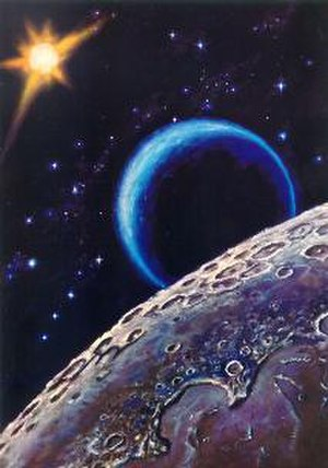 Alexey Leonov - Leonov's painting Near the Moon (1967)