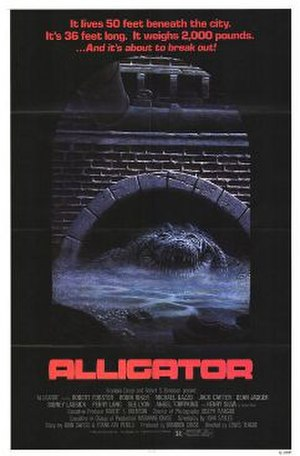 Alligator (film) - theatrical release poster
