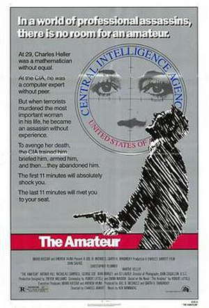 The Amateur (1981 film) - Theatrical release poster