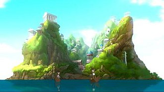 Themyscira (DC Comics) - Themyscira as shown in the 2010 film Superman/Batman: Apocalypse.