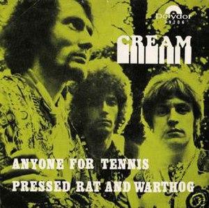 Anyone for Tennis - Image: Anyone for tennis 45 sleeve cream