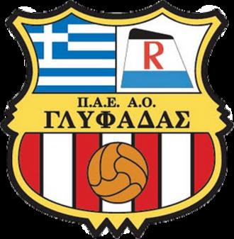 Glyfada F.C. - Logo of team from 2011 until 2014