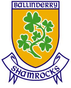 Ballinderry Shamrocks GAC - Image: Ballinderry