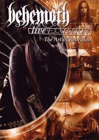 Live Eschaton - Image: Behemoth Live Eschaton