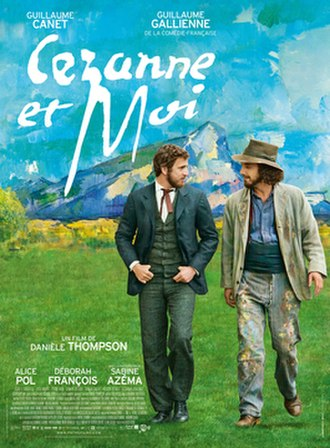Cézanne and I - Theatrical release poster