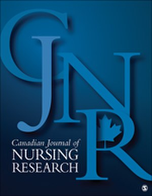 Canadian Journal of Nursing Research - Image: CJN Rcover 2016