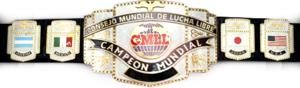 CMLL World Heavyweight Championship - Image: CMLL World Championship Belt
