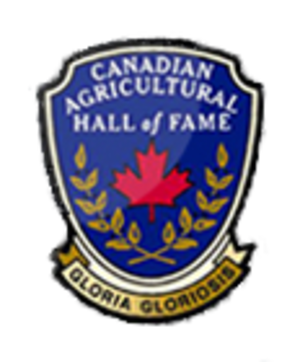 Canadian Agricultural Hall of Fame - Image: Canadian Agricultural Hall of Fame Association Logo