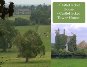 Castle Hackett - Image: Castlehacket house and tower house