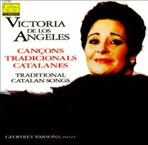 Traditional Catalan Songs - Image: Catalan Songs (Victoria de Los Angeles album)