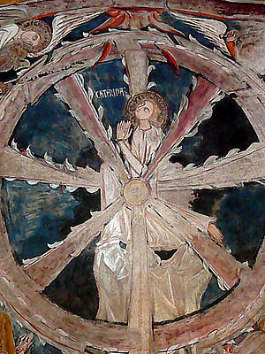 "Detail from ""Catherine's Wheel"": Cat..."