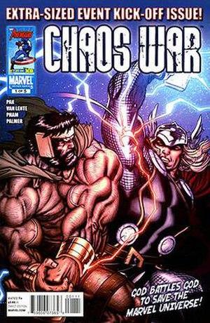 Chaos War - Image: Chaos War 1