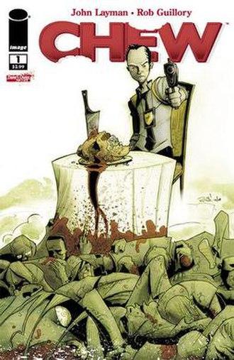 Chew (comics) - Image: Chew 1