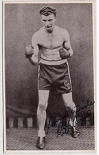 Cliff Curvis Welsh boxer