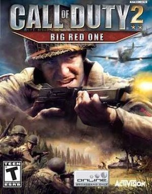 Call of Duty 2: Big Red One - Image: Cod 2bre