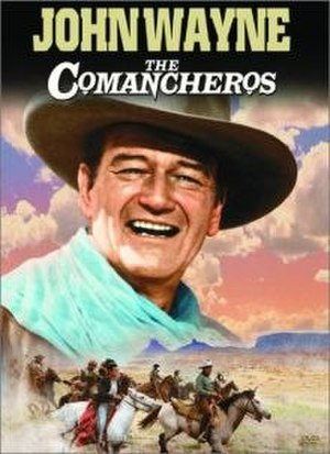 The Comancheros (film) - DVD cover