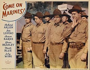 Come On Marines! - Theatrical poster