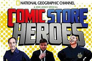 Comic Store Heroes - Image: Comic Store Heroes Logo