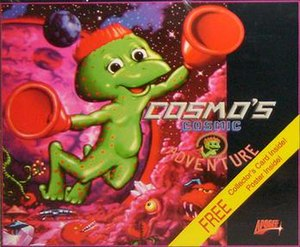 Cosmo's Cosmic Adventure - Cover art