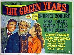 The Green Years (film) - Theatrical release poster