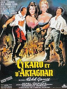 Cyrano and d 39 artagnan wikipedia for Poster et affiche