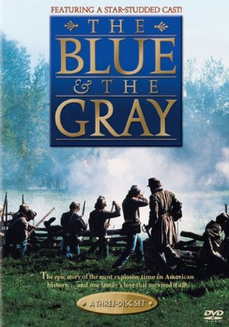 The Blue and the Gray (miniseries) - Image: DVD cover of the movie The Blue and the Gray