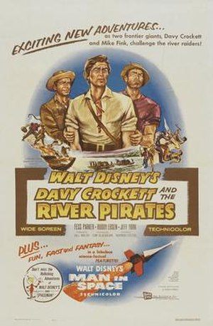 Davy Crockett and the River Pirates - Image: Davy Crockett and the River Pirates