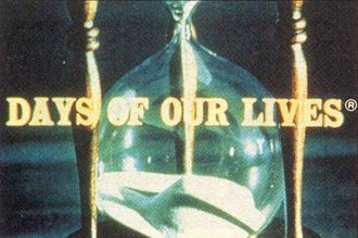 Days of Our Lives - Original main title; the registered trademark next to the title was later removed.