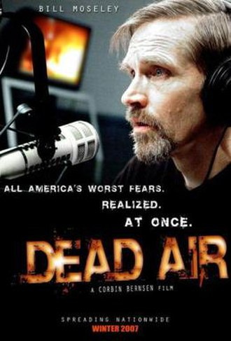 Dead Air (2009 film) - Theatrical release poster