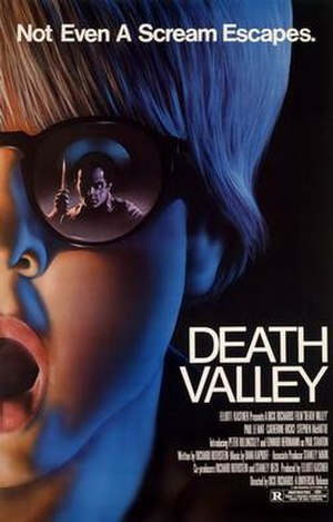 Death Valley (1982 film) - Theatrical release poster