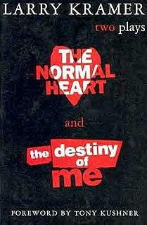 <i>The Destiny of Me</i> play written by Larry Kramer