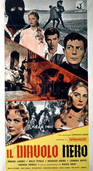 The Black Devil (film) - Image: Diavolo nero g rard landry sergio grieco 001 jpg mjtn