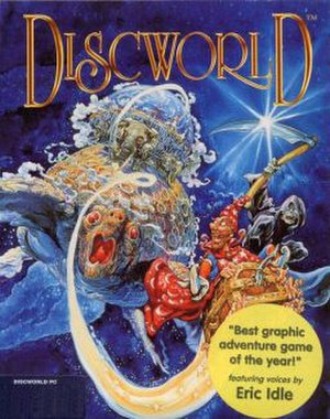 Discworld (video game) - The cover features work by Discworld novel cover artist Josh Kirby.