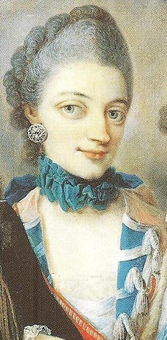 Duke Charles Louis Frederick of Mecklenburg - Image: Duchess Christiane of Mecklenburg 135 detail