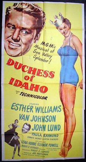 Duchess of Idaho - Theatrical release poster