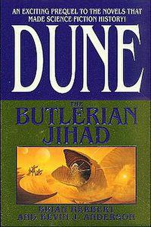 Dune: The Butlerian Jihad - First edition cover
