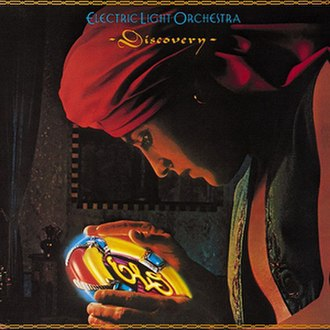 Discovery (Electric Light Orchestra album) - Image: ELO Discoveryalbumcover