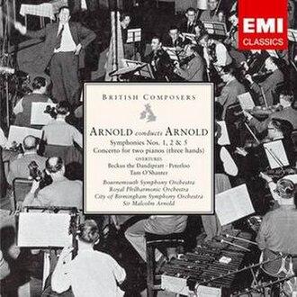 Symphony No. 2 (Arnold) - Image: EMI3821462