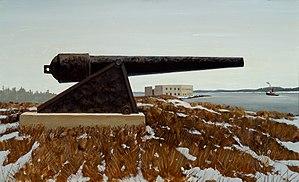 Fort Popham - Image: Etnier Fort Popham
