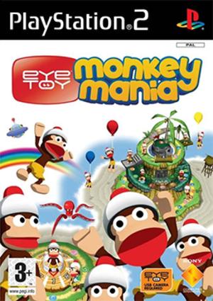 EyeToy: Monkey Mania - Image: Eye Toy Monkey Mania Coverart
