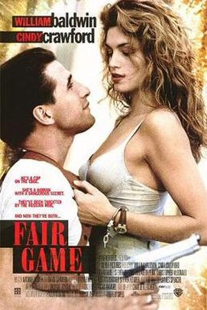 Fair Game (1995 film) - Theatrical release poster